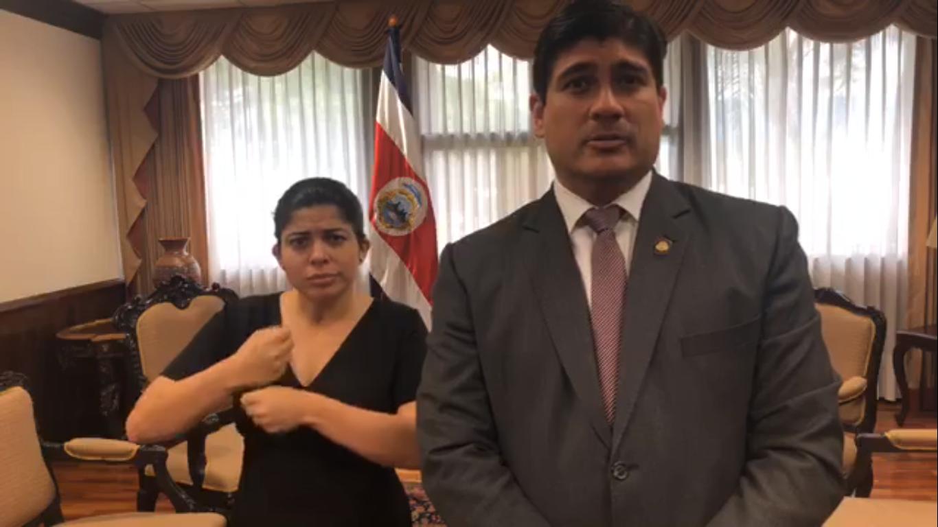 Sindicalistas costarricenses darán plazo al gobierno