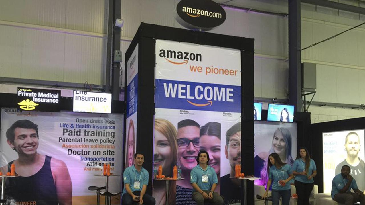 Ahora podrás pagar las compras de Amazon escaneando tu mano