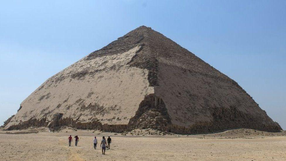 En Egipto abren al turismo una pirámide de 4,600 años de antigüedad