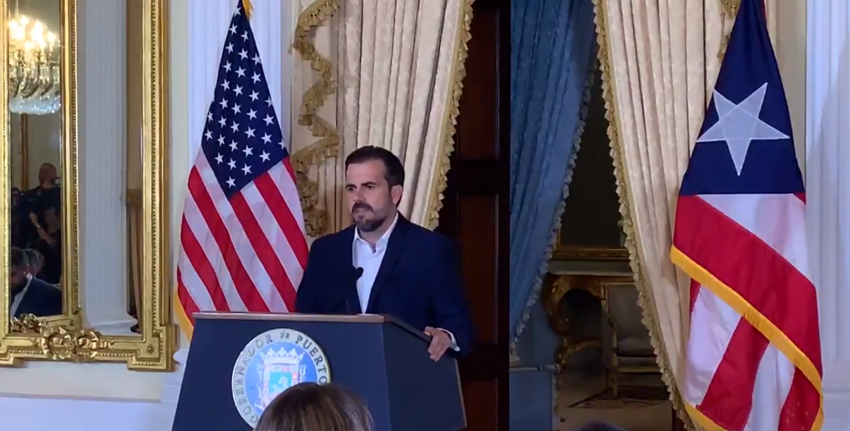 """El gobernador de Puerto Rico acepta sus """"actos impropios pero no ilegales"""""""