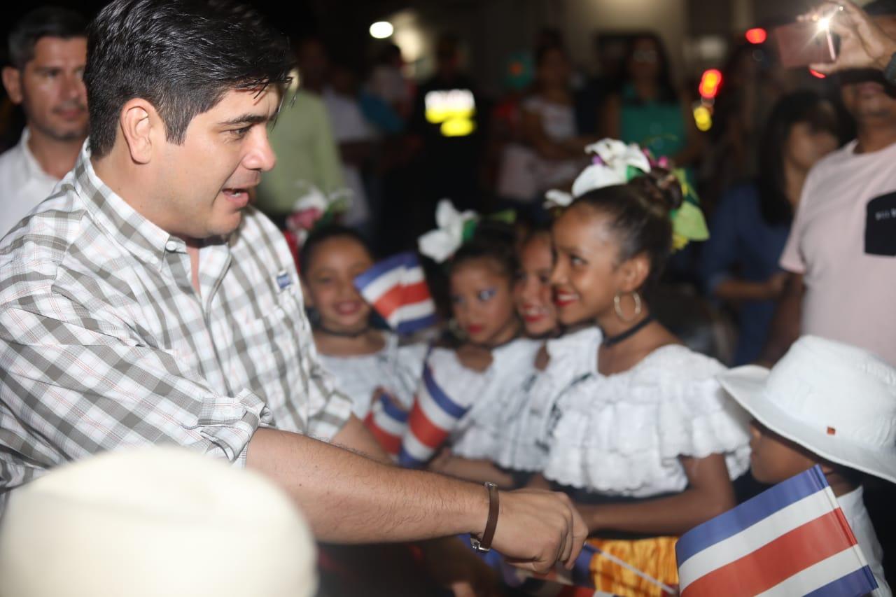 Presidente de Costa Rica crea la Unidad para obtener datos confidenciales de ciudadanos