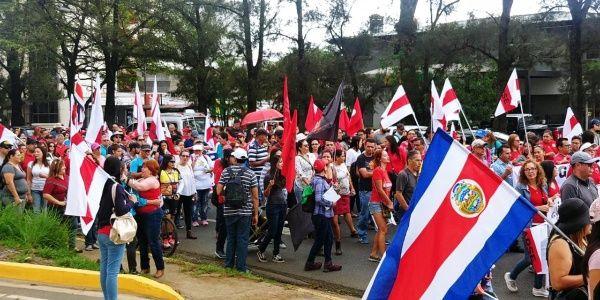 Juez rechaza medidas cautelares contra líder de protestas en Costa Rica