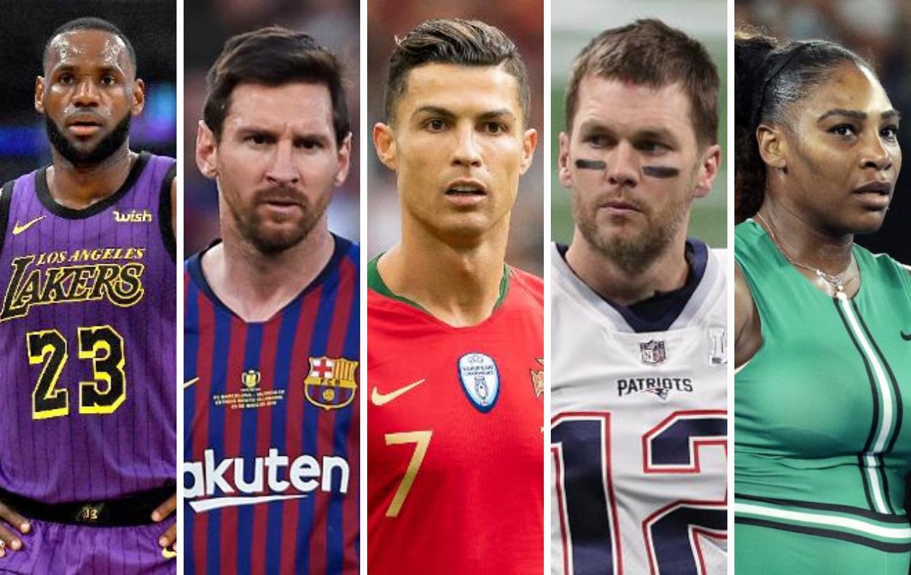 Los atletas mejor pagados del mundo 2020: Federer desbanca a Messi