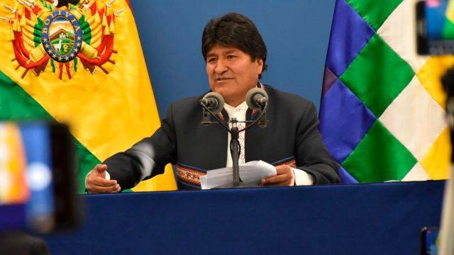 """Evo Morales ve en el litio la causa del """"golpe de Estado"""" en Bolivia"""