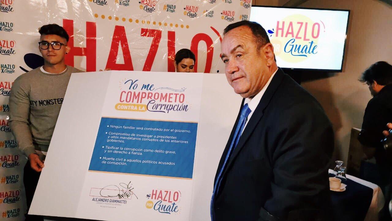 A estos retos se enfrentará Alejandro Giammattei, presidente electo de Guatemala