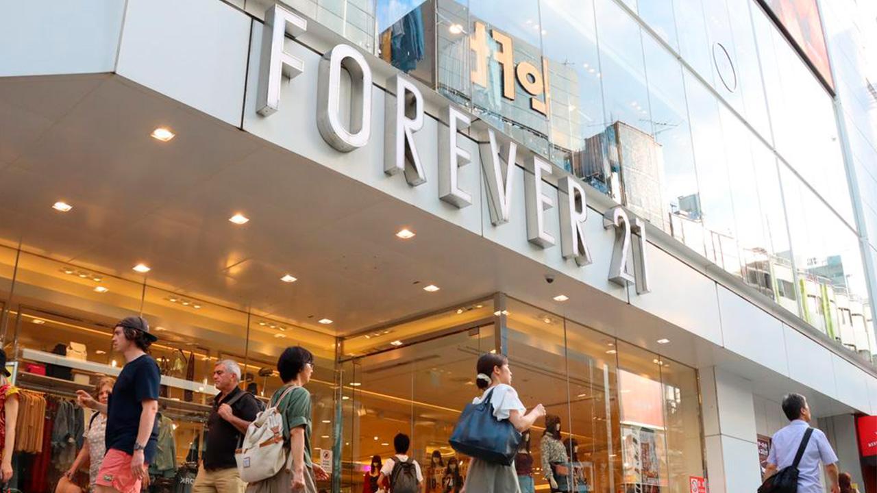 Forever 21 ya comenzó a cerrar tiendas por bancarrota