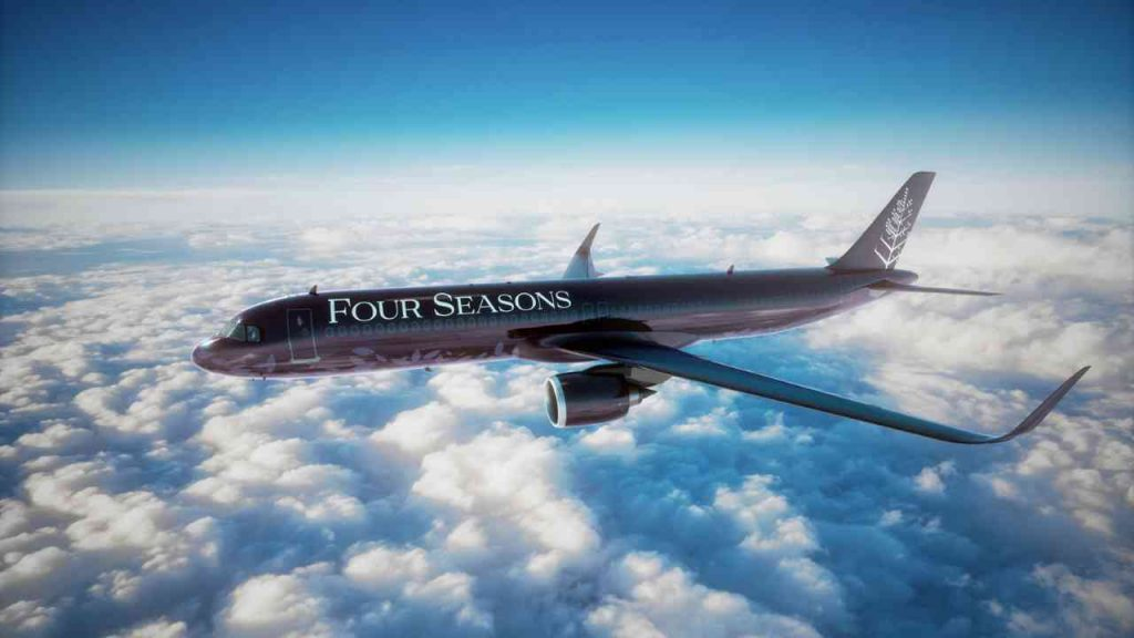 Four Seasons estrena jet privado