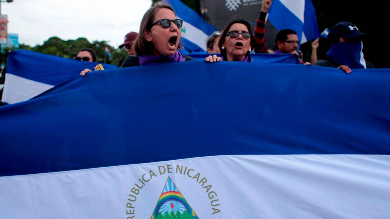 """Feministas denuncian """"actos de intimidación"""" en su contra en Nicaragua"""