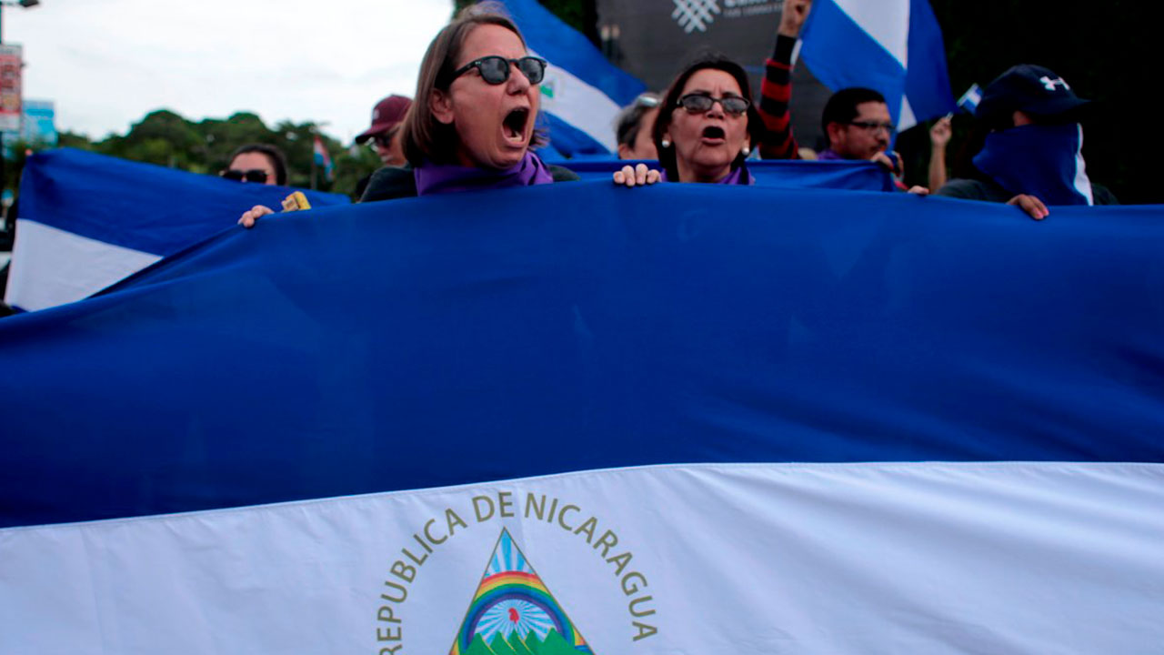 Rechazan a familiares de opositores detenidos en cárceles de Nicaragua