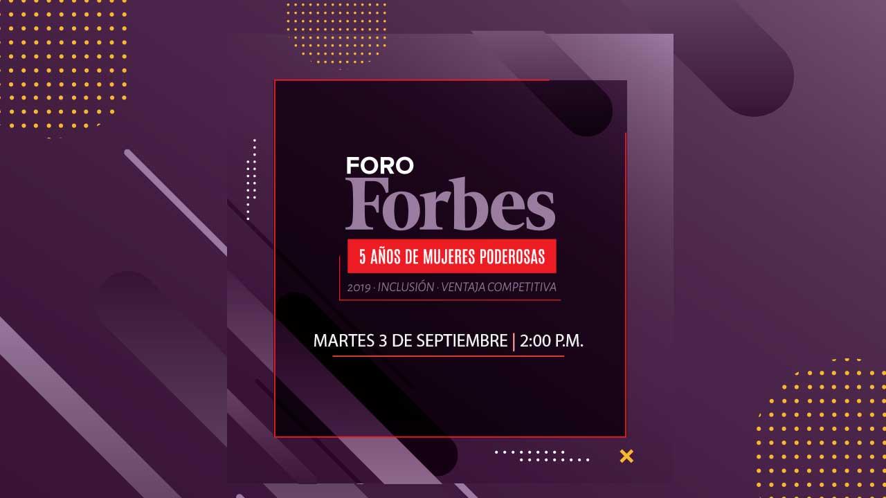 Foro Forbes | 5 años de Mujeres Poderosas en Centroamérica