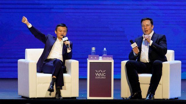 Lucha de gigantes: Elon Musk y Jack Ma debaten sobre IA