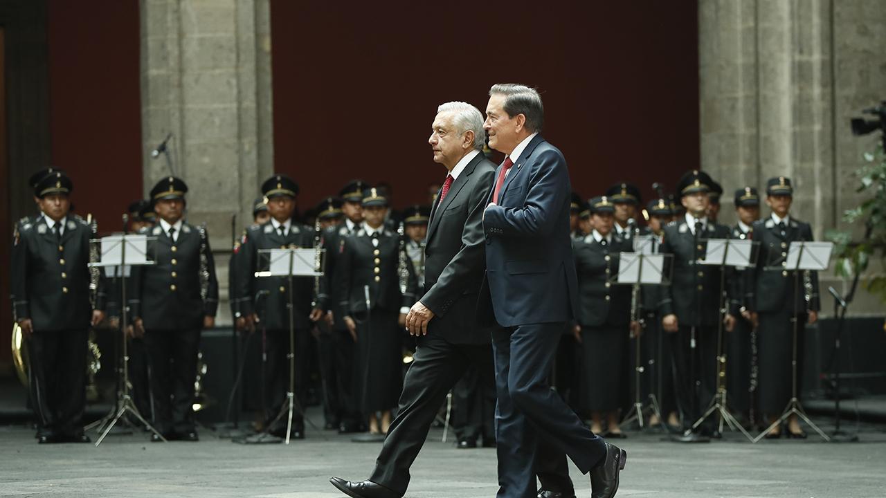 López Obrador y Cortizo abordan inversiones mexicanas en Panamá