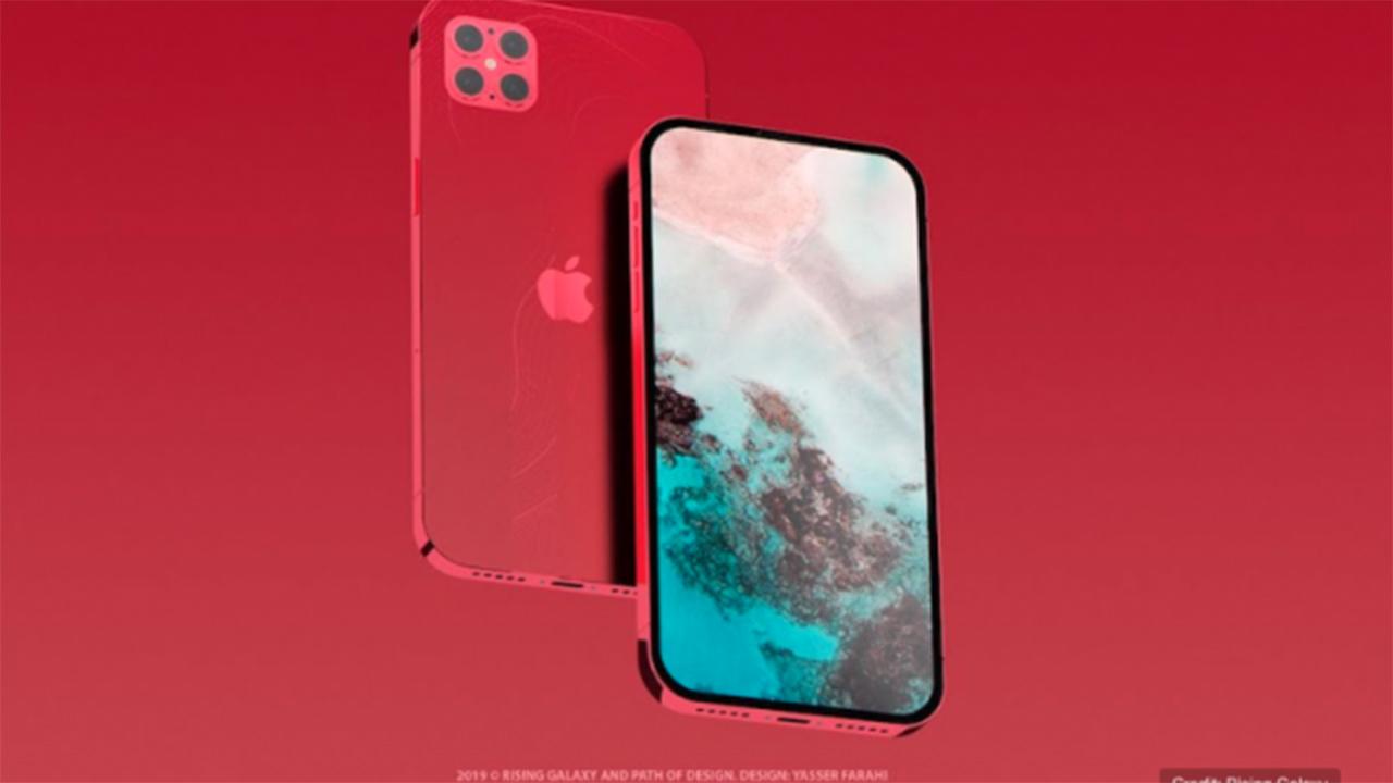 Así se vería el iPhone 12, según diseñadores