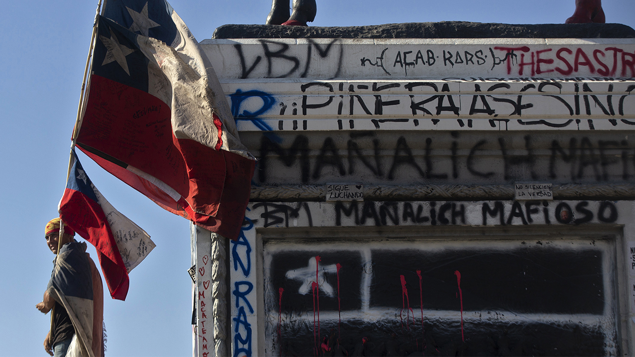 Estos son los estragos que han dejado las protestas en Chile