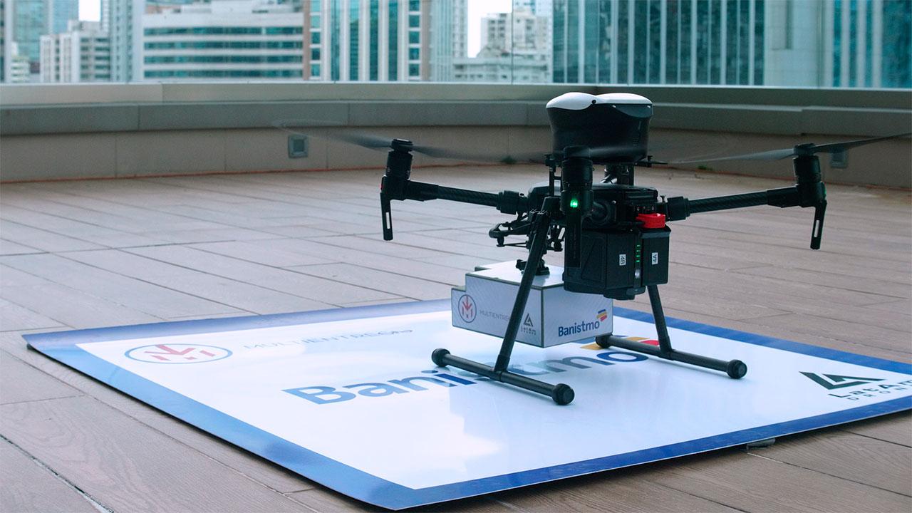 Panamá utilizará drones para mensajería interbancaria