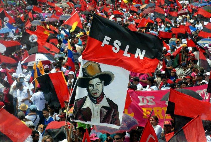 Oficialistas conmemoran en Nicaragua la muerte del fundador del partido FSLN