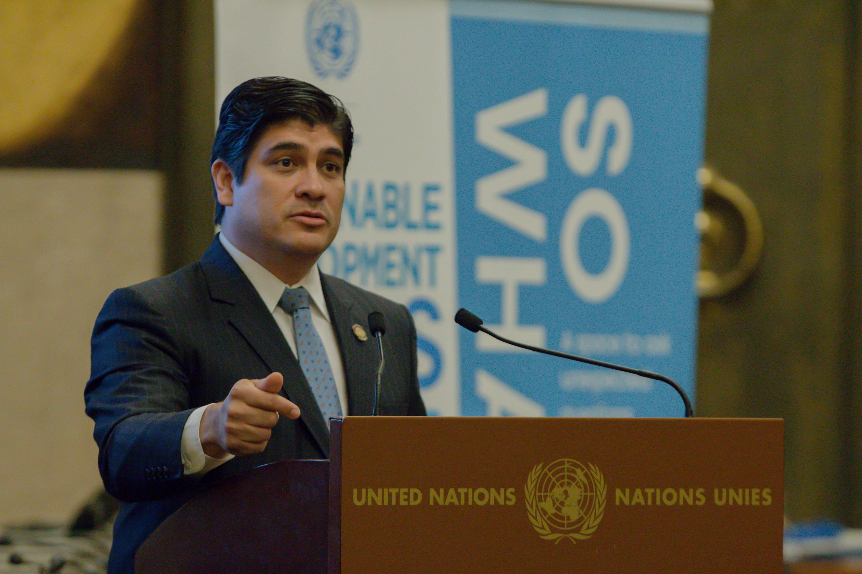 Carlos Alvarado pide ayuda internacional para atender a refugiados provenientes de Nicaragua