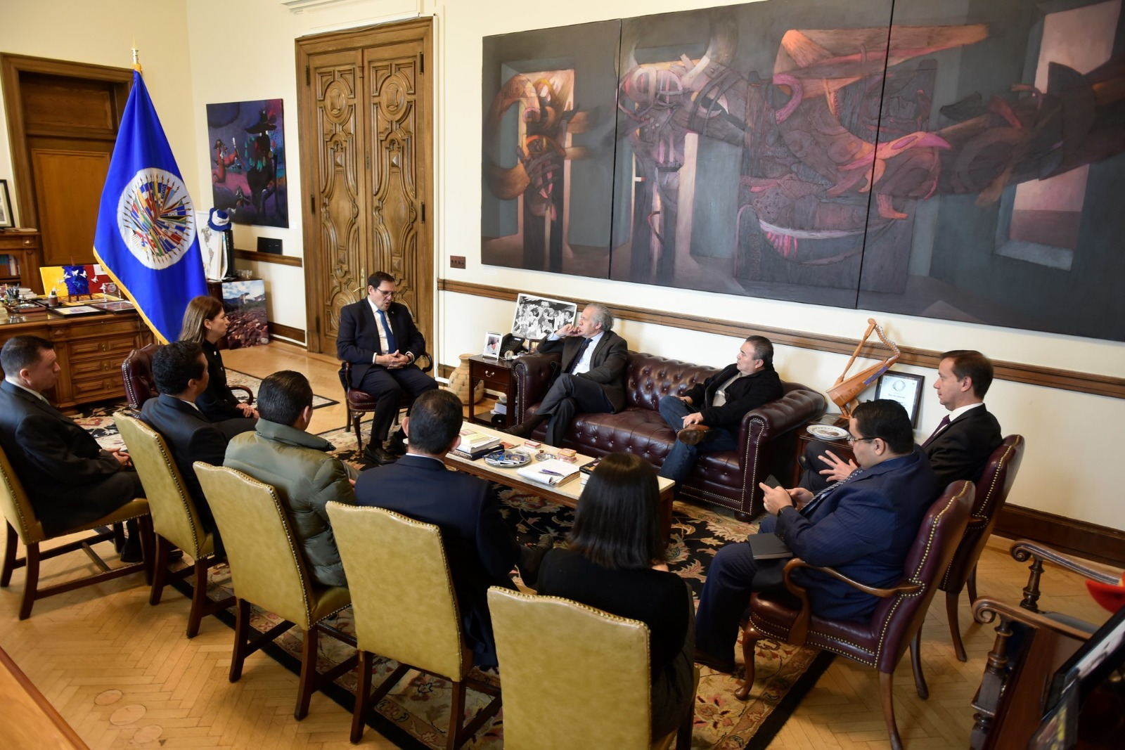 OEA y Honduras inician diálogo para segunda etapa de misión contra corrupción