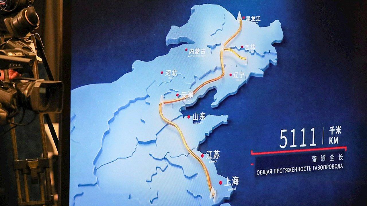 China y Rusia sellan histórica alianza con arranque del gasoducto 'Fuerza de Siberia'