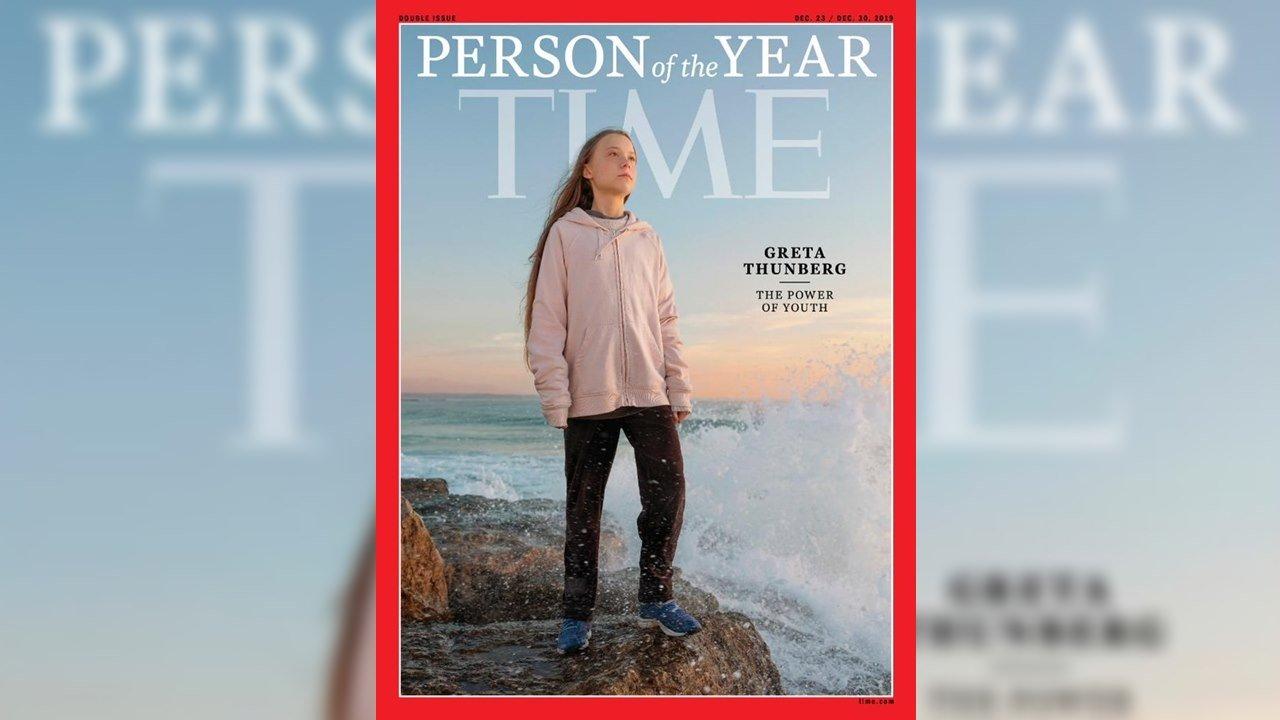 Greta Thunberg, la Persona del Año para la revista Time