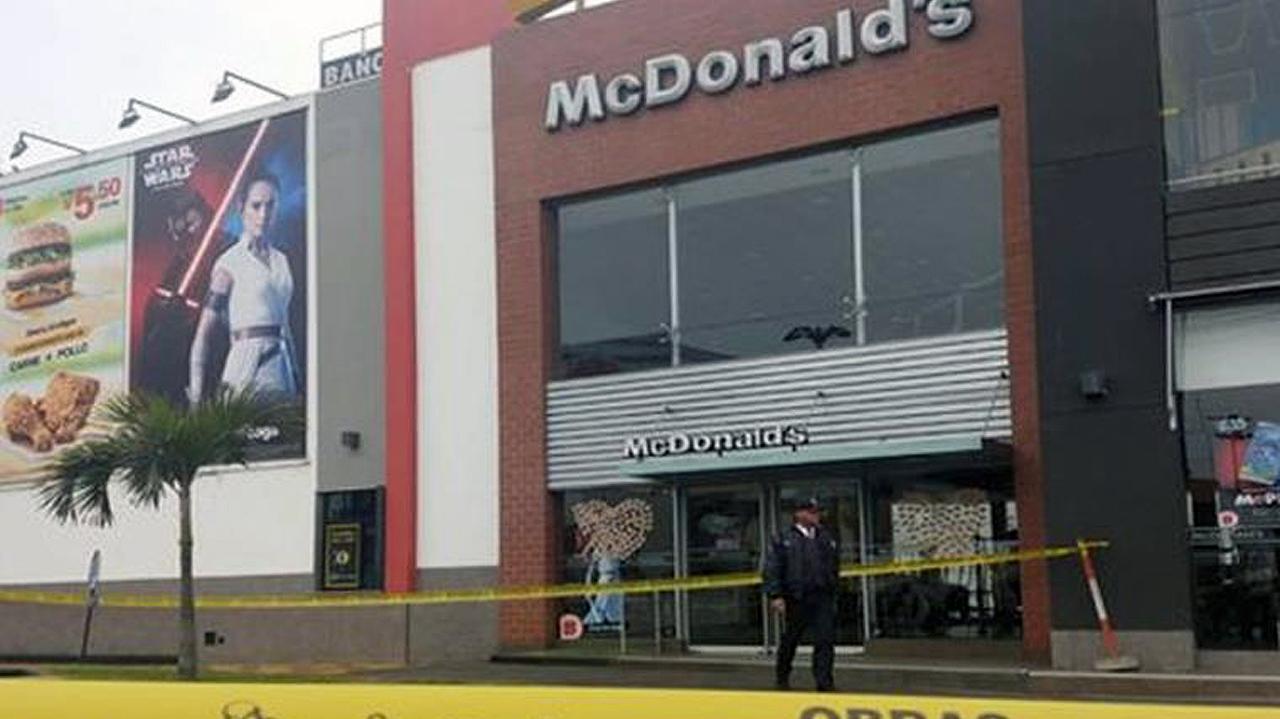 McDonald's cierra restaurantes en Perú para guardar luto por muerte de trabajadores