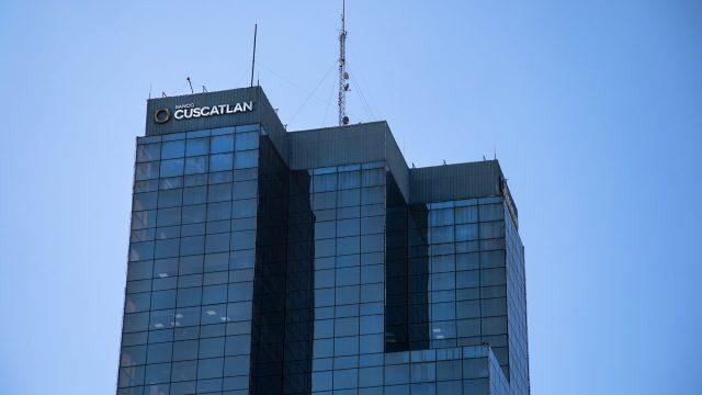 banco cuscatlan, en la capital san Salvador, 2019
