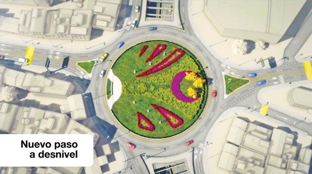 El nuevo paso a desnivel de Guadalupe tendrá 790 metros de longitud, cuatro carriles en el paso a desnivel (dos por sentido).