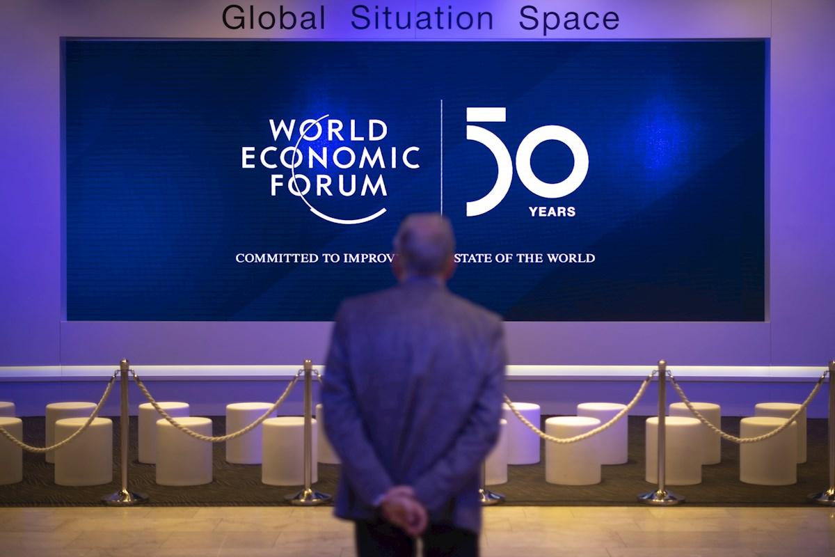 El Foro Económico Mundial de Davos, 'el lugar donde hay que estar'