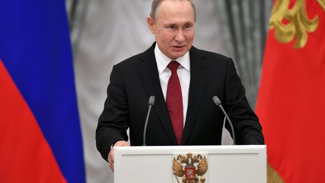 Vladimir Putin presidente Rusia