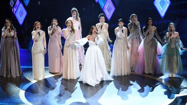 Las 'Elsas' del mundo se reúnen en la noche del Oscar