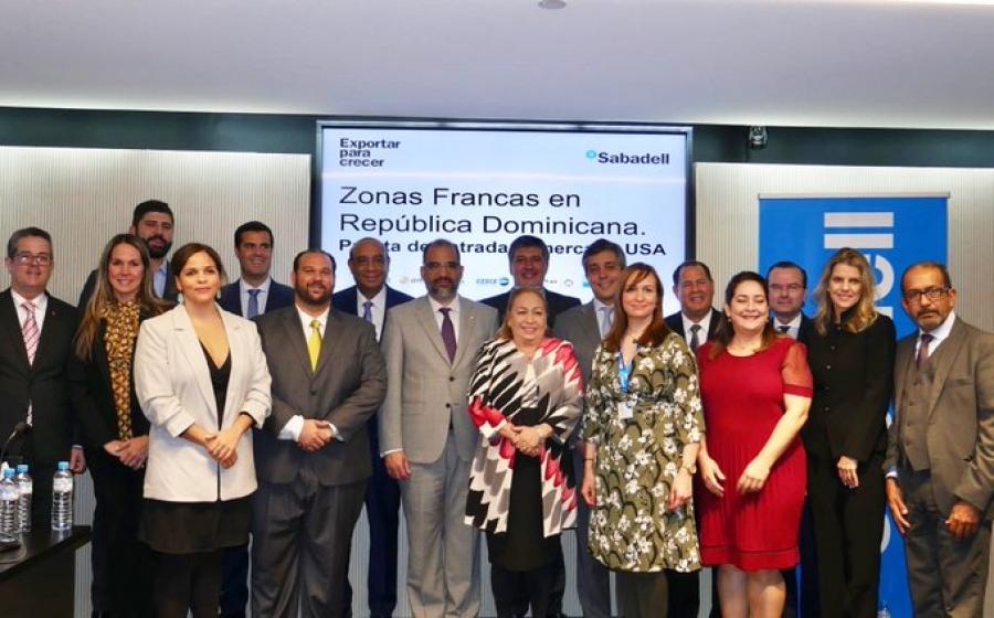 RD: empresarios españoles se interesan en invertir en zonas francas
