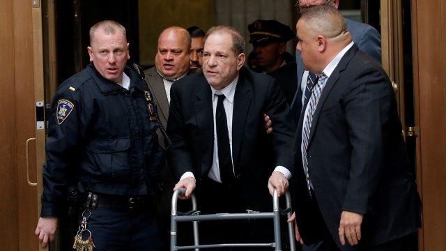 Sentencian a Harvey Weinstein a 23 años de prisión