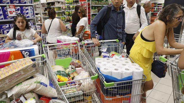 Supermercado. Coronavirus