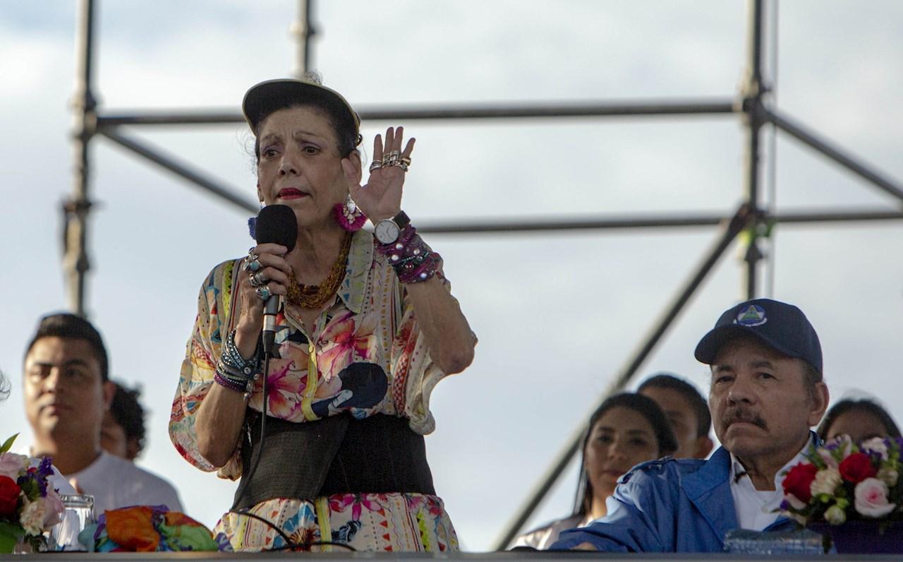 """""""Cuiden su propia tierra"""", responde vicepresidenta de Nicaragua a EU"""