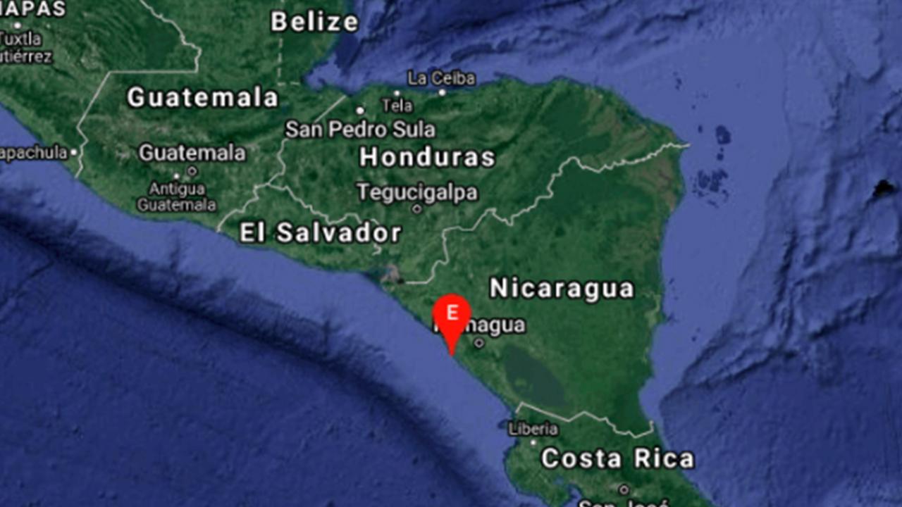 Nicaragua registra sismo de entre 5 y 5.2 grados