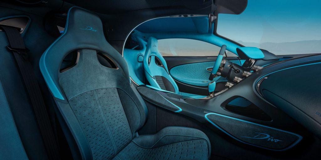 Asientos autos Bugatti