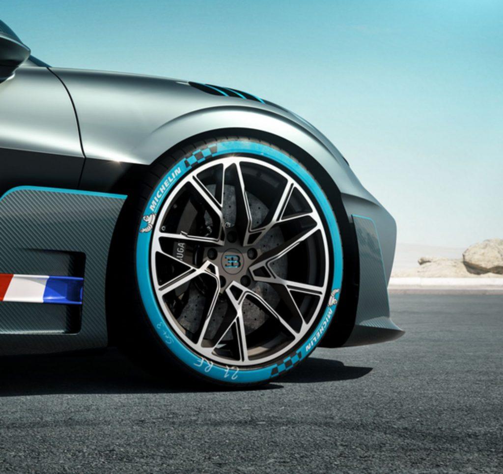 Bugatti aspectos del auto