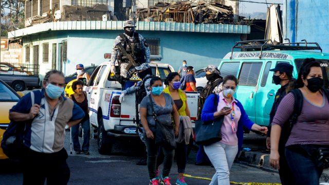 Coronavirus El Salvador COVID-19, ciudad ejercito