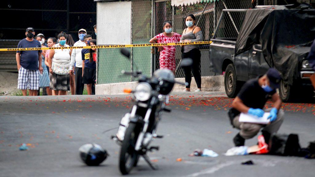 Coronavirus El salvador Pandillas crimenes asesinatos
