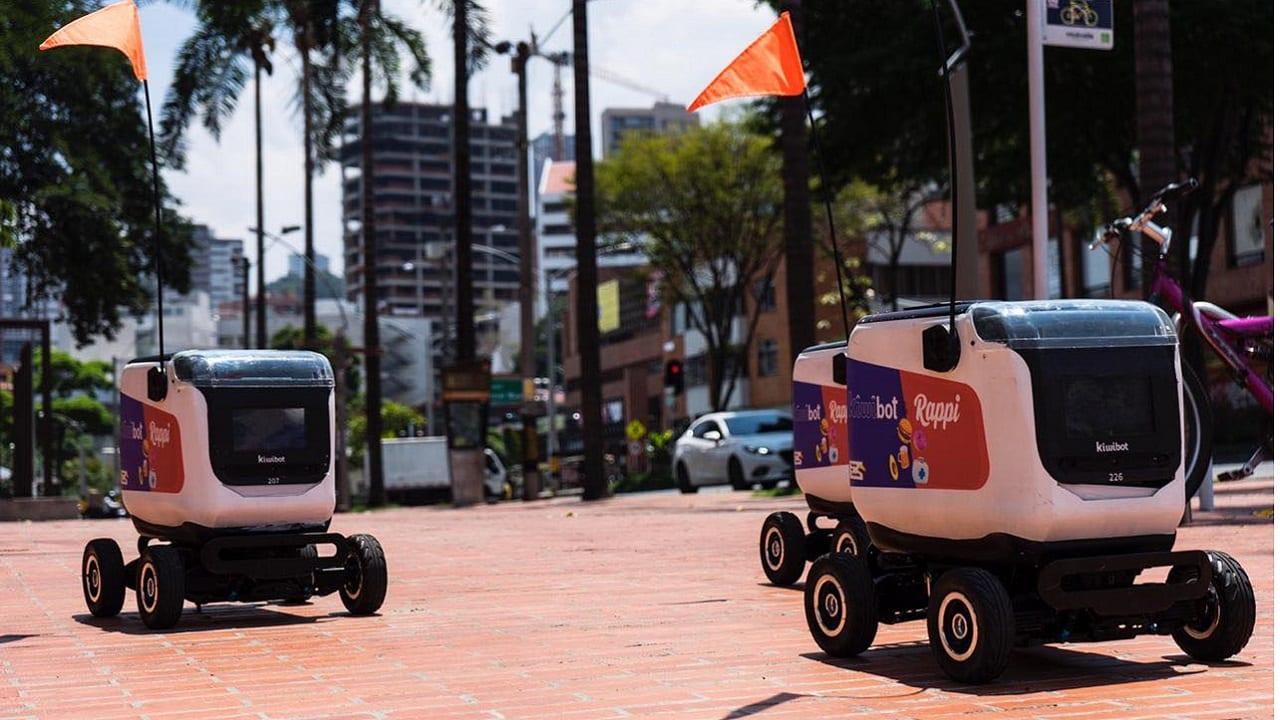 Rappi inicia sus primeras entregas con robots