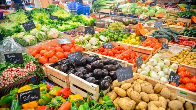 frutas verduras alimentos