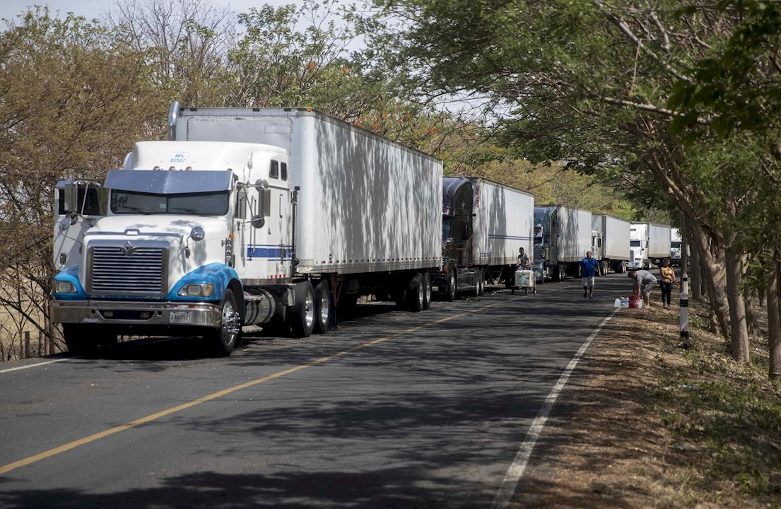 Transportistas de Nicaragua anuncian bloqueo de frontera con Costa Rica