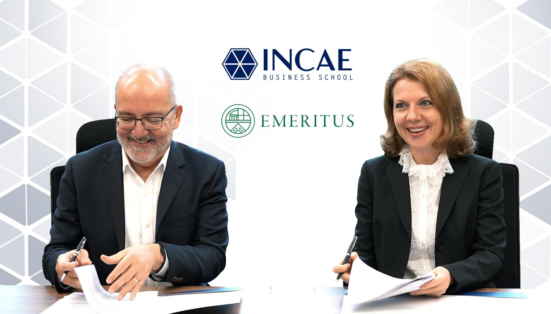 INCAE y EMERITUS ofrecen la formación digital más innovadora de Latinoamérica