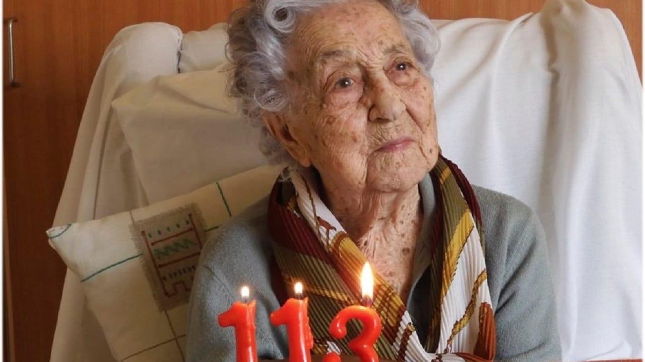 Con 113 años, la mujer más longeva de España sobrevivió al coronavirus