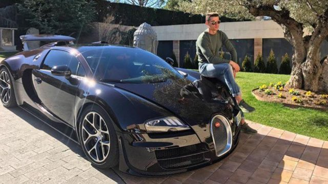 autos deportivos Cristiano Ronaldo