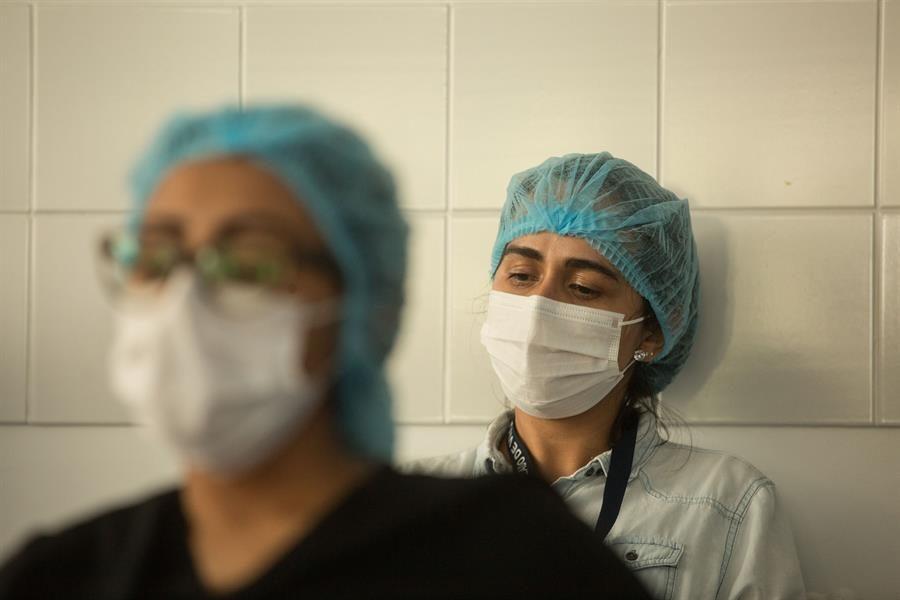 Enfermeras de Panamá protestan con huelga contra inestabilidad laboral