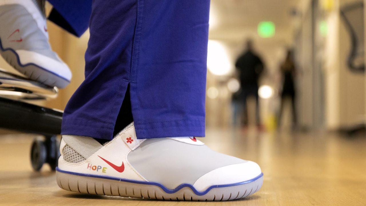 Nike donará estos tenis a los héroes de primera línea