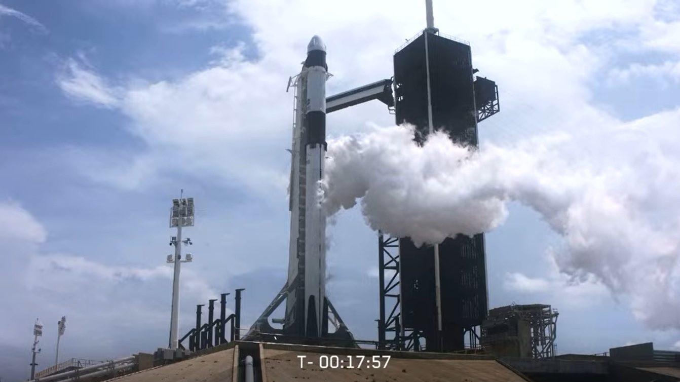 SpaceX se prepara para el vuelo de prueba de su proxima generación de cohetes