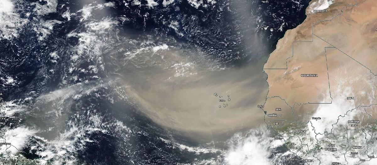 Honduras, entre los países más afectados por la nube del Sahara