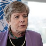 Alicia Bárcena, Secretaria Ejecutivo de la Comisión Económica para América Latina y el Caribe (CEPAL).